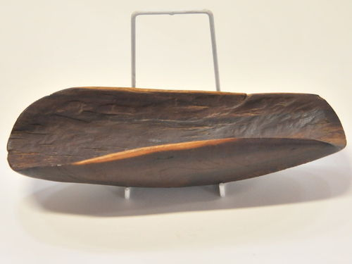 Coolamon Seed Tray | Period: c1970s | Material: Mulga wood
