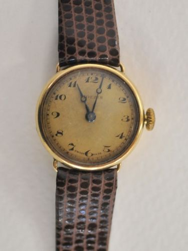 Ladies Wrist Watch | Period: c1930s | Make: Moeris | Material: 18ct gold