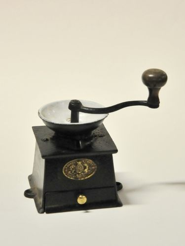 Coffee Grinder | Period: Victorian c1890 | Make: A Kenrick & Sons | Material: Cast iron & brass