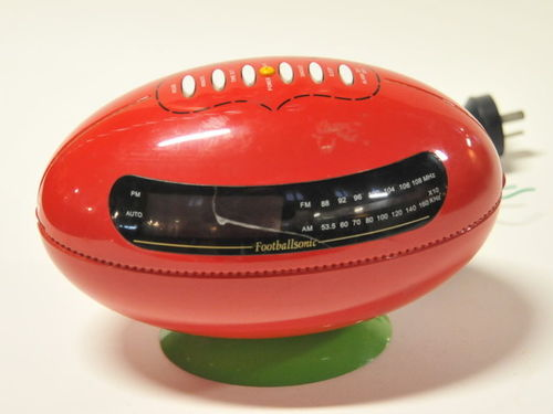 Football Radio | Period: Retro | Make: Footballsonic | Material: Plastic