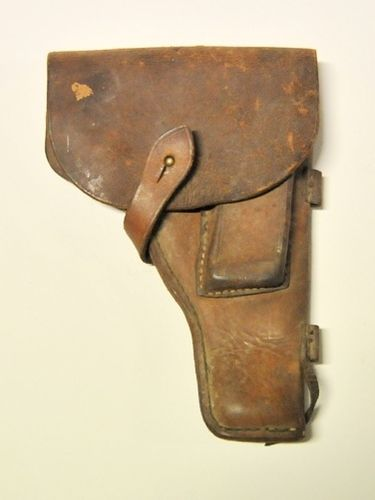 Pistol Holster | Period: c1930s | Material: Leather