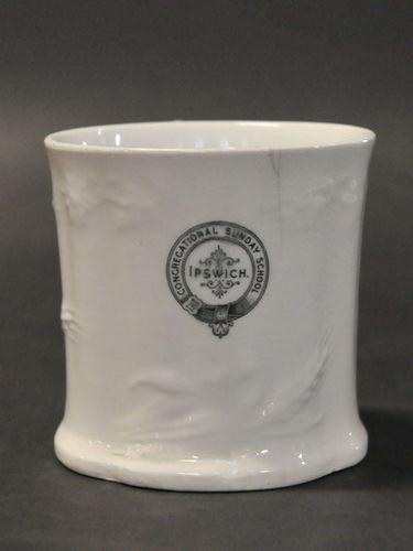 Congregational Sunday School  Mug | Period: Victorian c1900 | Make: Johnson Bros. | Material: Porcelain