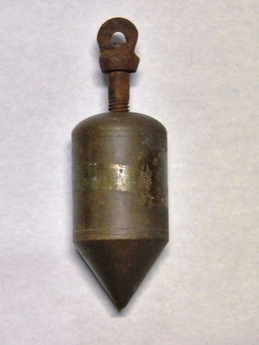 Plumb Bob | Period: c1920 | Material: Brass