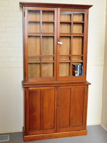 Pine Bookcase | Period: Edwardian c1910 | Material: Pine