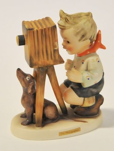 Goebel Figurine | Period: c1970s | Make: W Goebel | Material: Soft porcelain