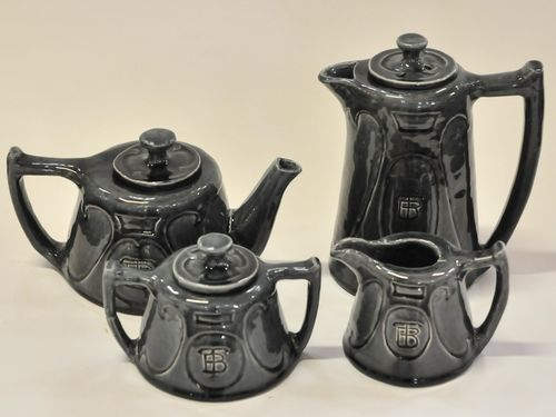"Harvey School Tea Service | Period: 1930 | Make: ""MT"" Harvey School 
