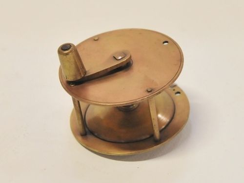 Fly Fishing Reel | Period: c1920s | Material: Brass