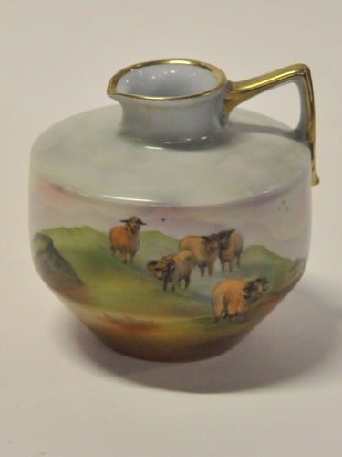 Royal Bayreuth Jug   Period: c1910   Make: Royal Bayreuth   Material: Porcelain