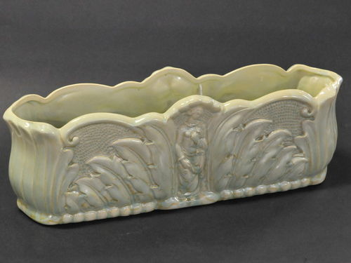 Greenway Trough | Period: c1950s | Make: E G Greenway | Material: Pottery