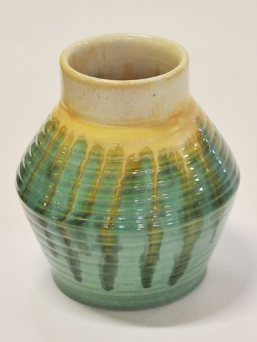 Remued Vase | Period: 1934-42 | Make: Premier Potteries | Material: Pottery