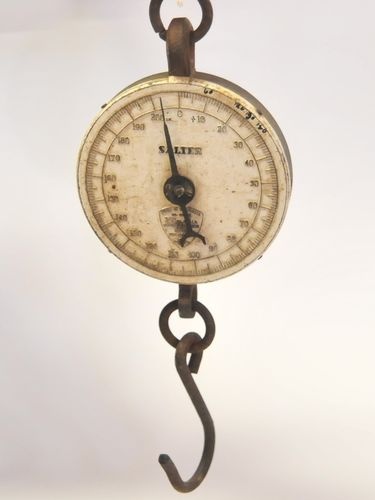 Hanging Scales | Period: c1950s | Make: Salter | Material: Various metals