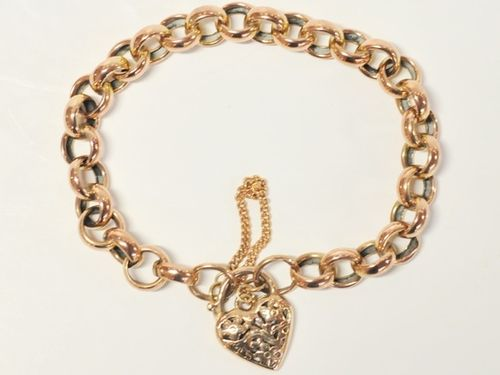 Rose Gold Bracelet | Period: c1980 | Material: 9ct. Rose Gold