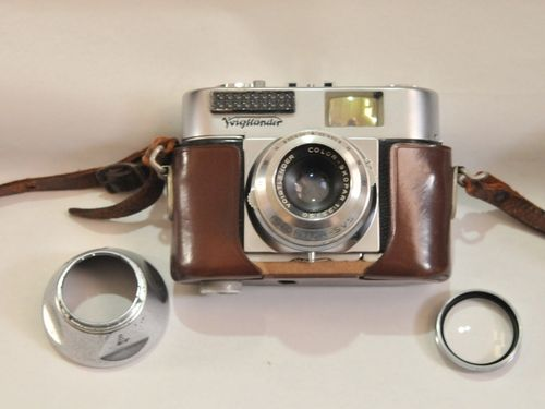 Voightlander Camera | Period: c1956 | Make: Voightlander Vito BL