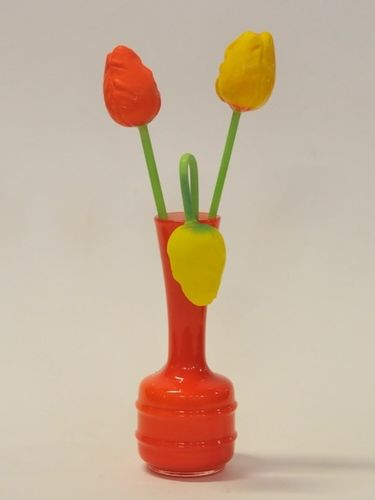 Glass Tulips | Period: Art Deco | Material: Glass