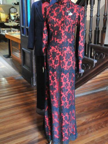 Black Lace Dress | Period: c1980