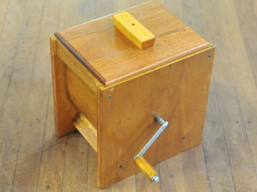 Butter Churn | Period: c1970 | Material: Timber & 5 Ply