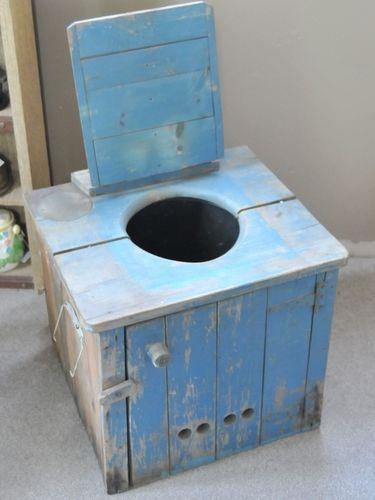 Toilet | Period: c1920s | Material: Pine