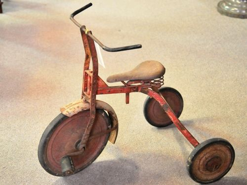 Vintage Tricycle | Period: Edwardian c1910 | Material: Steel