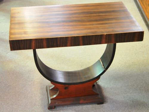 Occasional Table | Period: Art Deco c1930s | Material: Walnut Veneer