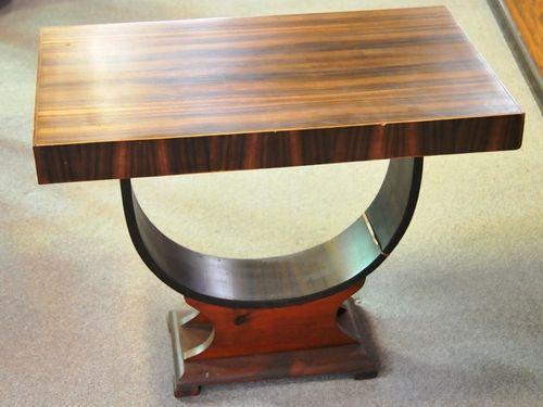 Occasional Table | Period: Art Deco c1930s | Material: Walnut Veneer