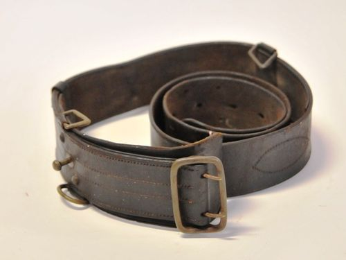 SamBrowne Belt | Period: WW2- 1939-45 | Make: Australian Army | Material: Leather