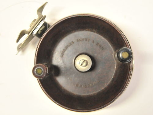 Alvey Side Cast Reel | Period: c1980s | Make: Charles Alvey & Son | Material: Bakelite & Stainless Steel