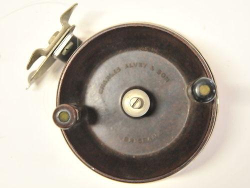 Alvey Side Cast Reel   Period: c1980s   Make: Charles Alvey & Son   Material: Bakelite & Stainless Steel