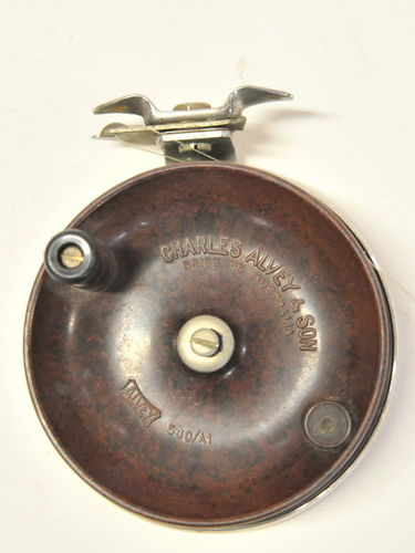 Alvey Fishing Reel | Period: c1960s | Make: Charles Alvey & Son | Material: Bakelite & Stainless Steel