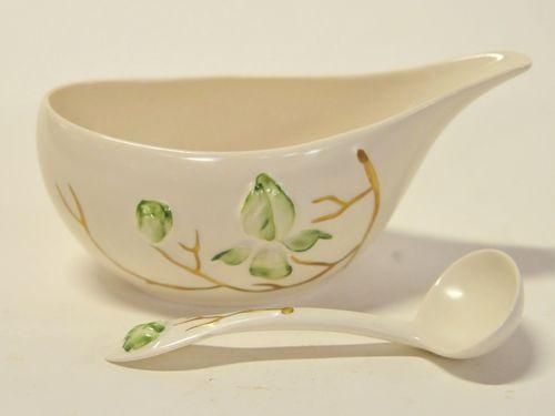 Gravy Boat & Ladle | Period: c1950s | Make: Carlton Ware | Material: Porcelain