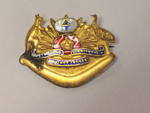 Military Badge | Period: WW2- 1939-45 | Make: Armed Forces | Material: Enamelled brass