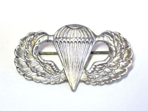 Paratrooper Badge | Period: WW2- 1942-45 | Material: Solid Silver