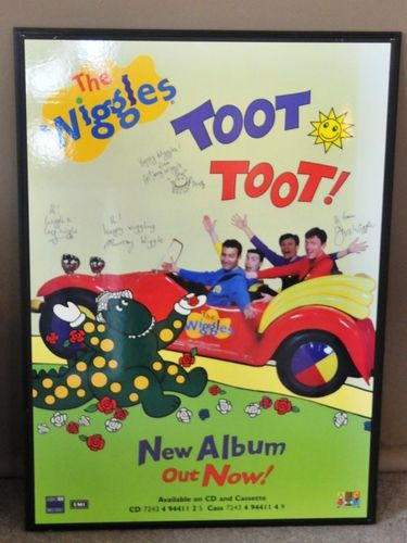 Wiggles Poster | Period: c1990 | Material: Poster on board