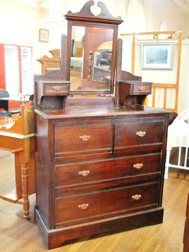 Duchess Dressing Table | Period: Edwardian c1905 | Material: Pine