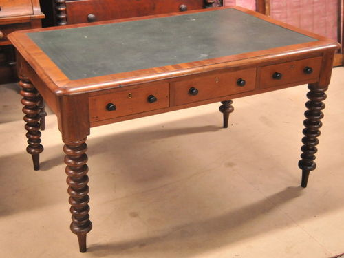 Colonial Cedar Library Table | Period: Victorian c1860 | Material: Cedar