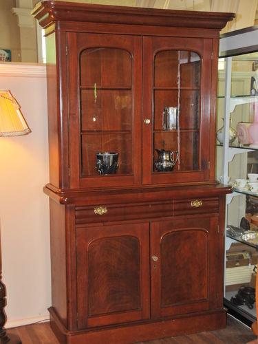 Cedar Bookcase | Period: Victorian c1870 | Material: Cedar