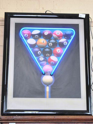 Neon Pub Sign   Period: c1980s   Material: Neon over board