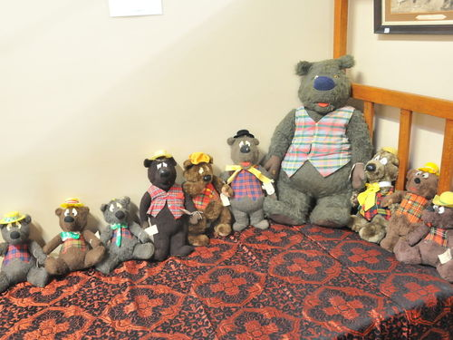 Humphrey Bears | Period: c1980s | Make: Various | Material: Fabric
