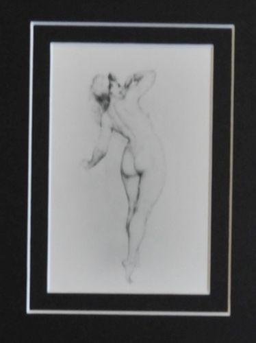 Norman Lindsay Print | Period: 1927 | Make: Norman Lindsay 1879-1969 | Material: Card