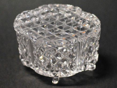Crystal Lidded Bowl | Period: c1960s | Material: Crystal