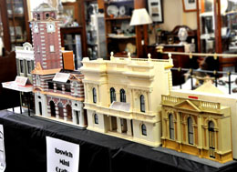 Small Photo of Ipswich in Miniature Display
